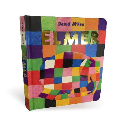 Elmer: Board Book by David McKee