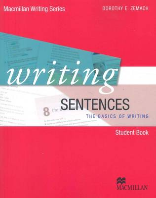 Writing Sentences book