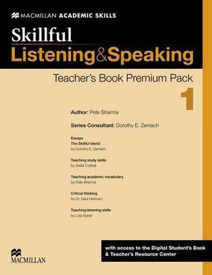 Skillful Level 1 Listening & Speaking Teacher's Book Premium Pack by Steve Gershon