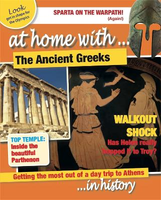 At Home With: The Ancient Greeks by Tim Cooke