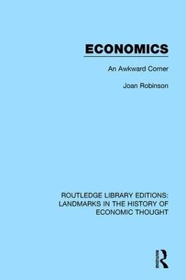 Economics: An Awkward Corner book