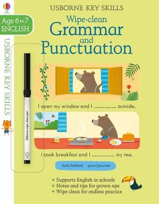 Wipe Clean Grammar And Punctuation 6-7 by Jessica Greenwell