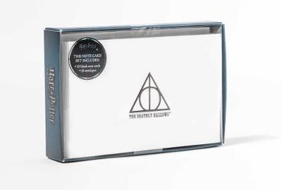 Harry Potter: Deathly Hallows Foil Note Cards (Set Of 10) by Insight Editions