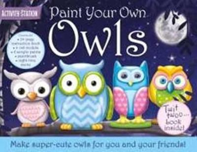 Paint Your Own Owls book