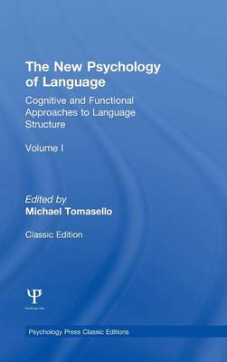 New Psychology of Language by Michael Tomasello