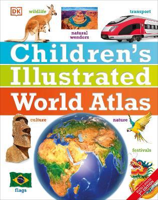 Children's Illustrated World Atlas book