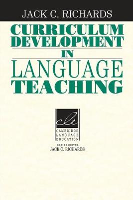 Curriculum Development in Language Teaching book