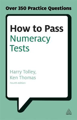 How to Pass Numeracy Tests by Harry Tolley
