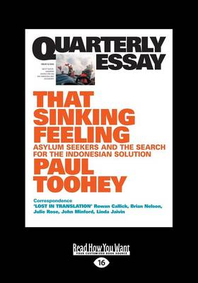 QE53: That Sinking Feeling by Paul Toohey