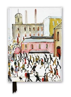 L.S. Lowry: Going to Work, 1959 (Foiled Journal) by Flame Tree Studio