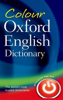 Colour Oxford English Dictionary book