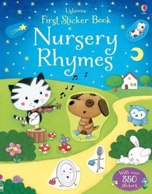 First Sticker Book Nursery Rhymes by Rosalinde Bonnet