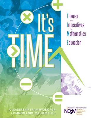 It's Time by NCSM (National Council of Supervisors of Mathematics)