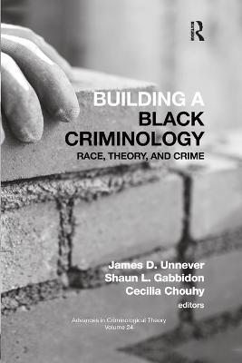 Building a Black Criminology, Volume 24: Race, Theory, and Crime book