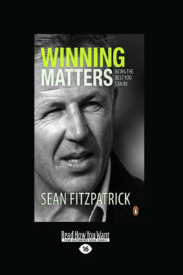 Winning Matters by Sean Fitzpatrick