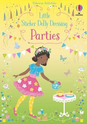 Little Sticker Dolly Dressing Parties book