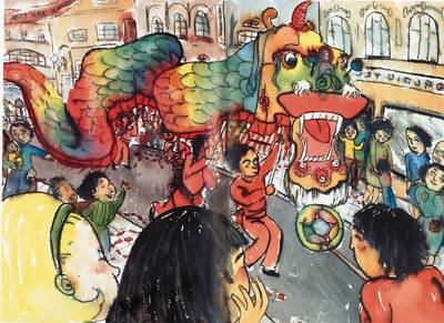 Fang Fang's Chinese New Year book