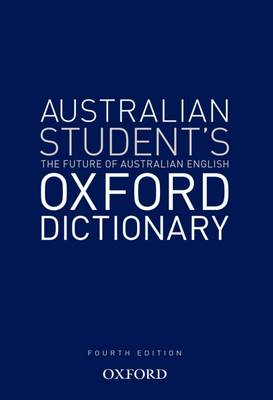 Australian Student's Oxford Dictionary book