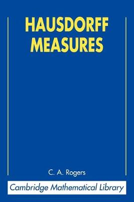 Hausdorff Measures by C. A. Rogers