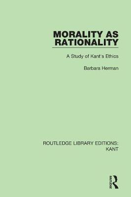 Morality as Rationality book