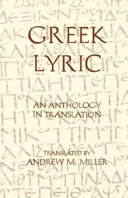 Greek Lyric book