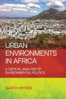 Urban environments in Africa book