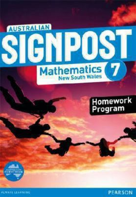 Australian Signpost Mathematics New South Wales  7 Homework Program by David Barton