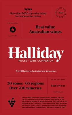 Halliday Pocket Wine Companion 2021: The 2021 guide to Australia's best value wines by James Halliday