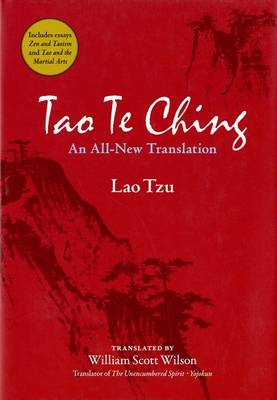 Tao Te Ching: An All-new Translation by Lao Tzu