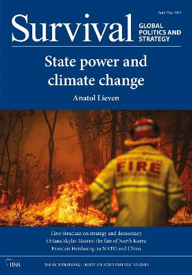 Survival: Global Politics and Strategy (April-May 2020): State Power and Climate Change book