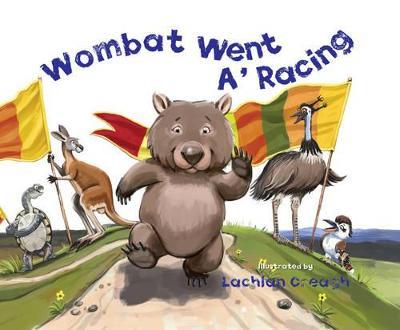 Wombat Went A' Racing book
