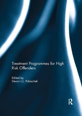 Treatment programmes for high risk offenders book