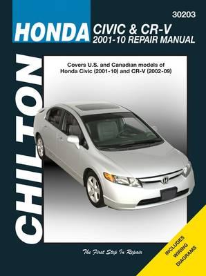 Honda Civic & CRV Service and Repair Manual by Robert Maddox