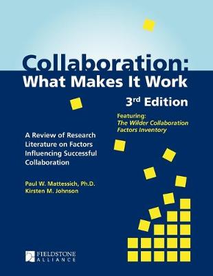Collaboration by Paul W Mattessich