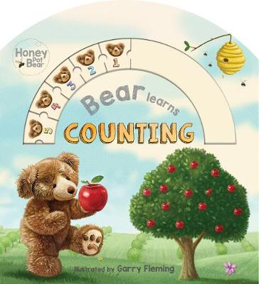 Honey Pot Bear Learns Counting Abacus Book by Garry Fleming