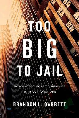 Too Big to Jail by Brandon L. Garrett