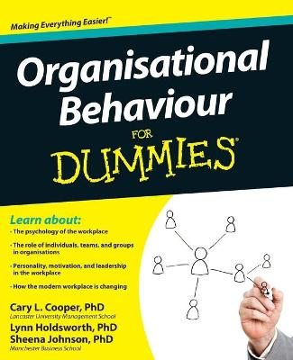 Organisational Behaviour for Dummies by Cary L. Cooper
