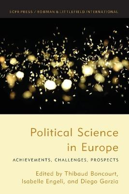 Political Science in Europe: Achievements, Challenges, Prospects book