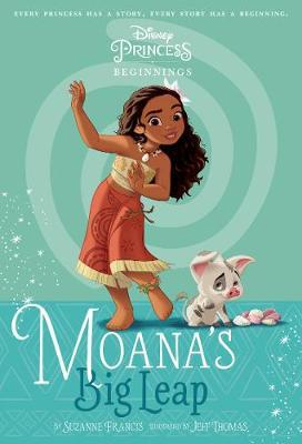MOANA DISNEY PRINCESS book