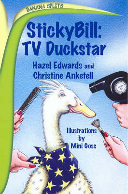Stickybill: TV Duckstar / Cyberfarm by Hazel Edwards