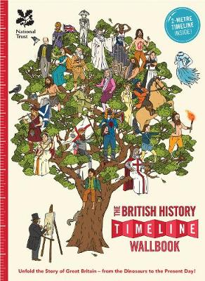 The British History Timeline Wallbook by Christopher Lloyd