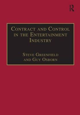 Contract and Control in the Entertainment Industry book