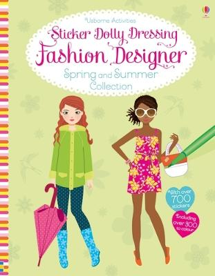 Sticker Dolly Dressing Fashion Designer Spring and Summer Collection book