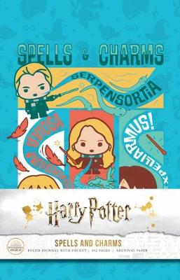 Harry Potter: Spells and Charms Hardcover Ruled Journal by Insight Editions