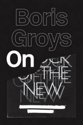On the New by Boris Groys