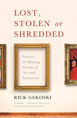 Lost, Stolen or Shredded book