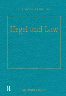Hegel and Law by Michael Salter