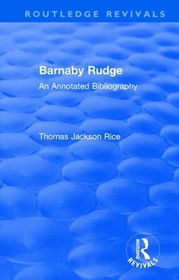 : Barnaby Rudge (1987 ) book