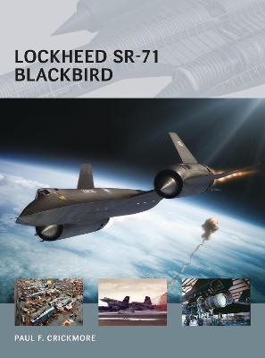 Lockheed SR-71 Blackbird by Paul F. Crickmore