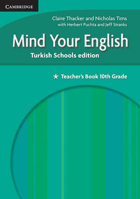 Mind your English 10th Grade Teacher's Book Turkish Schools edition by Claire Thacker